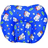 GURU KRIPA Baby Products ® Presents New Born Baby Soft Cotton Fabric Mustard Seeds Rai Pillow For Baby Head Shaping U Shape Takiya Feeding & Nursing Baby Neck Pillow (Navy Blue)