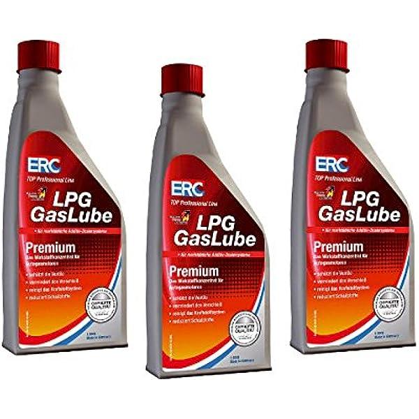 3 StÜck Erc Gaslube Premium Lpg Additiv Gas 1000ml Zusatz Auto Auto
