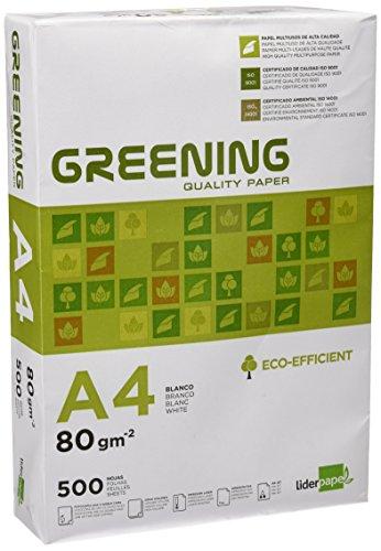 Liderpapel Papel Fotocopiadora Greening Din A4 80