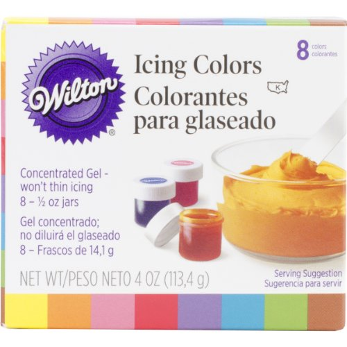 Wilton Icing Colors .5oz 8/Pkg - Neutral 4-unzen-pulver
