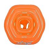Jilong Baby Plus 80x76 cm Schwimmhilfe Schwimmsitz Babysitz Schwimmring Babysicherheitsring Sitzring Schwimmhilfe nach EN13138 mit 3 Luftkammern max 15kg