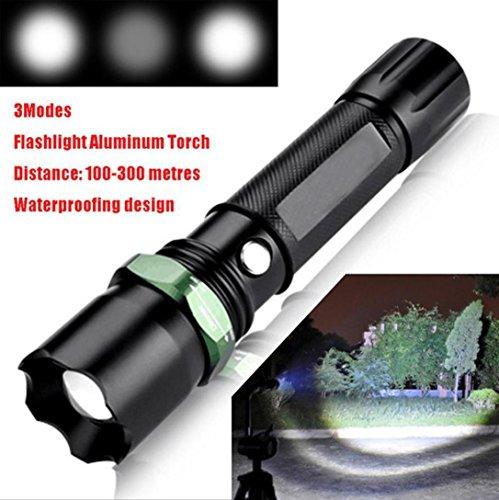 Fuibo [Taschenlampe Handlampe] Taktische Polizei 5000 Lumen Q5 LED 3 Modi Taschenlampe Aluminium Taschenlampe für Outdoor, Camping, Wandern,Notfälle, usw.