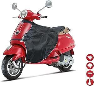 Dequate Winter Universal Wasserdicht Warmer Beinschutz Für Scooter Elektroautos Roller Motorrad Motorroller Motorrad Wetterschutz Legcover For Scooter Schwarz Auto