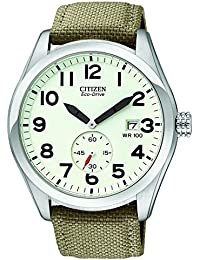 amazon co uk citizen watches citizen men s sport eco drive strap watch bv1080 18a