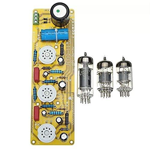 Ri Sheng Jian Zhu JCDQ11 Röhrenverstärker 6N1 + 6P1 Ventil Stereo Kann die Ausgangslautstärke einstellen Verstärkerplatine Filament AC-Netzteil + 3er Röhren