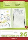 Brunnen 104499102 Geschichtenheft Klasse 2 (A4, 16 Blatt, Lineatur 2G)