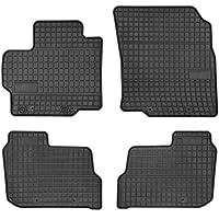 Graphit 2015 Anthrazit Textil Fußmatten Mazda 2 III Bj