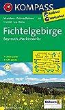 Fichtelgebirge - Bayreuth - Marktredwitz: Wanderkarte mit Aktiv Guide und Radrouten. GPS-genau. 1:50000: Wandelkaart 1:50 000 (KOMPASS-Wanderkarten, Band 191) -