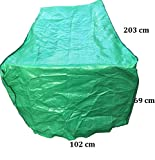 Schutzhülle für Tisch Hülle Abdeckung Haube Grün 203x102x69cm