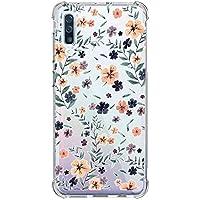 Oihxse Transparente Silicona Funda Compatible con Samsung Galaxy A9 Star/A8 Star Carcasa Ultra-Delgado Suave TPU Gel Airbag Esquinas Anti Rasguños Lindo Protector Case Bumper(A13)