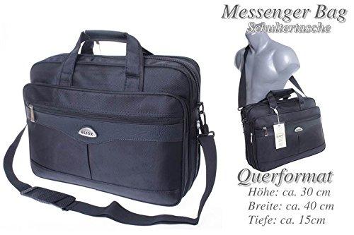 Eliox Borsa Messenger nero modello 2 Modello 3