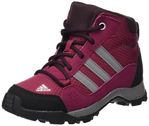 adidas Hyperhiker K, Chaussures de Randonnée Hautes Mixte Enfant, Multicolore-Rose/Gris (Rubmis/Gritre/Borosc), 38 EU