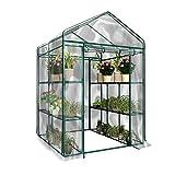 PVC Jardin plantes Warmhouse Serre avec housse clair pour l'hiver (sans support de fer, Pot de fleurs)