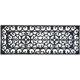 Esschert Design RB110 - Alfombra de goma, 120 x 45 cm, color negro