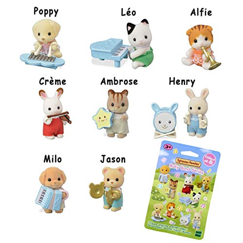 Sylvanian Families Sachet Surprise Série 1-Les bébés musiciens-5325 Figurines à Collectionner-Mini-Univers, 5325, Multicolore