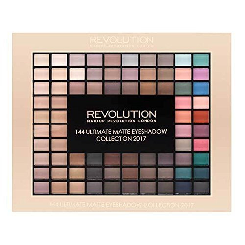 Make-up Revolution Lidschatten-Set 144 Matt, Lidschatten-Palette, Kollektion 2017