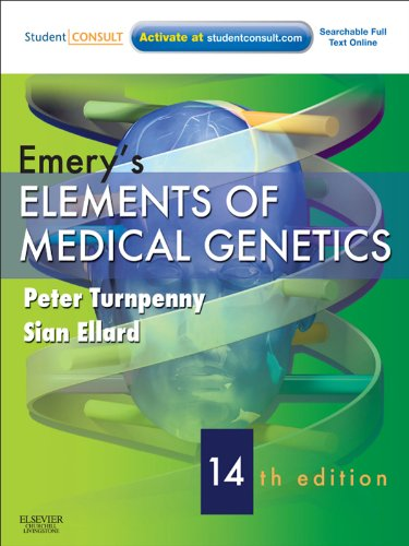 Emery's Elements of Medical Genetics E-Book (Turnpenny, Emery's Elements of Medical Genetics)