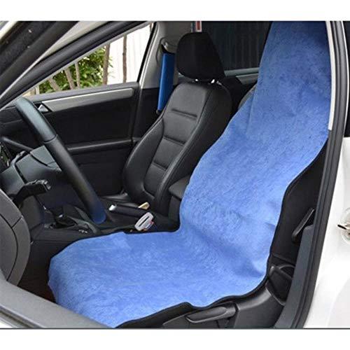 GHGYUF 2pcs Auto Sitzbezüge Universal Fahrzeuge Sitze Sport Handtuch Sitzkissen Strandmatte Haustier Matte Auto Sitzkissen Set Protector, 1