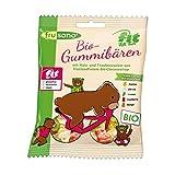 Frusano Bio Fit For Fun Fitnessbären - Gummibären ohne Gelatine, 10er Pack (10 x 100 g)