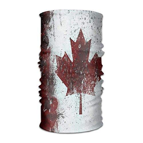 Preisvergleich Produktbild Miedhki NavyLife Women Men Vintage Canadian Flag Fashion Headscarf Outdoor Sport Headwear Bandanas Multifunction Magic Scarf, Neck Gaiter, Hand Wrap, Neck Balaclava for UV Resistence Multicolor3