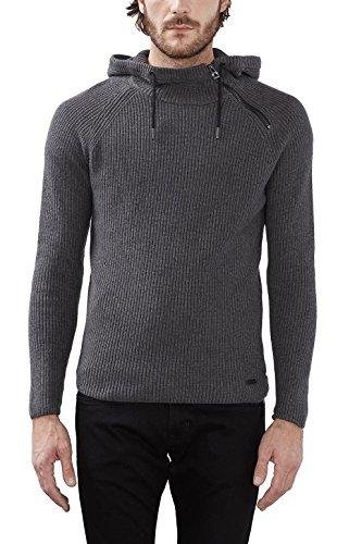 edc by Esprit 116cc2i017, Pull Homme Gris (dark Grey 020)