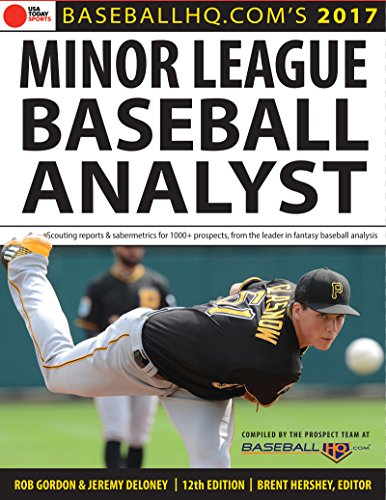 2017 Minor League Baseball Analyst (English Edition) por Jeremy Deloney