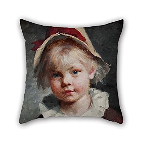 The Oil Painting Amanda Sidwall - The Thief Of Hearts Throw Pillow case/Kissenbezüge Of ,16 X 16 Inches / 40 By 40 Cm Decoration,gift For Bedding,kids,seat,office,boy Friend,kids Room (two Sides)