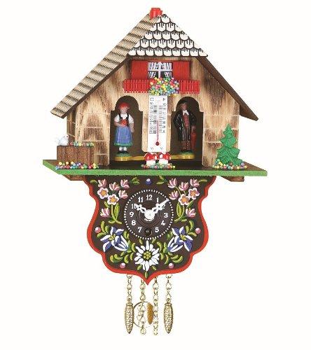 Trenkle Orologio dalla Foresta Nera in Miniatura casa Tipo Foresta Nera casetta Stazione Meteo