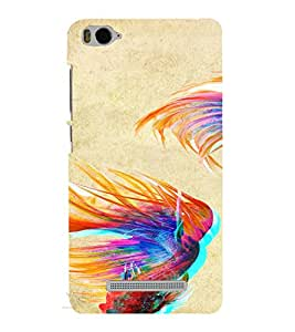 PrintVisa Fish Art Pisces Zodiac pattern 3D Hard Polycarbonate Designer Back Case Cover for Xiaomi Redmi MI 4C