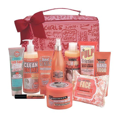 SOAP AND GLORY THE BIG SPLENDOUR GIFT SET 10 FULL SIZE ITEMS