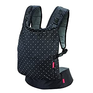 "Infantino Zip Ergonomic Baby Travel Carrier, Black BeeViuc Ultimate Comfort For Baby - The Baby Carrier is Used Soft Classical Cotton With Polyester Touching. Suit For Baby Who is Between 3-36 Months and 0-20 KG. Ultimate Comfort For Parents - An adjustable Velcro Waist Strap That Puts Some Of The Weight On Your Hips. Ultra Extand And Soft Padded Shoulder Straps For The Best Comfortable For All Parents. Baby Hip Healthy - Enable Your Baby To Be Seated in An Optimal Natural ""M Shape"" Position From Newborn To Toddler. The Carrier Has Been Acknowledged As a ""Hip-Healthy"" Product By The International Hip Dysplasia Institute. 9"