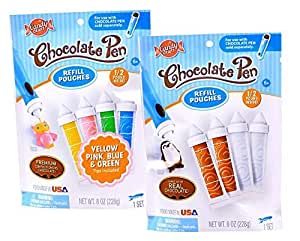 Candy Craft Chocolate Pen Refill Double Pack by Sky Rocket, LLC