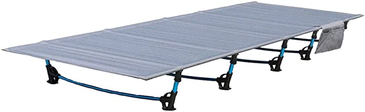 Ultralight Camping Bett Camping Klappbett Perfekt für Base Camping und Jagd für Erwachsene 79 x 24-Z Boloni