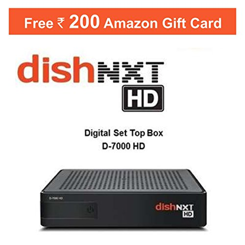 Dishtv Nxt HD+ Recorder Set Top Box With 1 Month Titanium Sports Pack