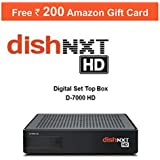 Dishtv Nxt HD+ Recorder Set Top Box with 1 Month Titanium Sports Pack (Multicolour)