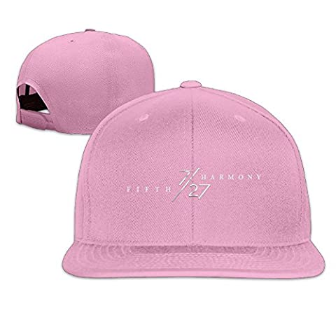 Hittings Fifth 727 Harmony Unisex Adjustable Flat Hat Bill Baseball Hats Outdoor Sports In 8 Colors Pink