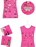 Sellus Jewellery Organizer Dress Shape Double Sided (multi color)