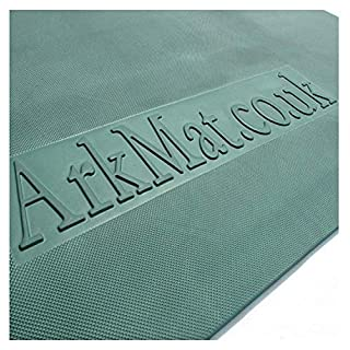 ARKMat Green EVA Rubber Horse Stable Wall Mat | 10mm Thick | 6 x 4ft
