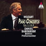 Mozart : Piano Concertos Nos 5, 6 & 8