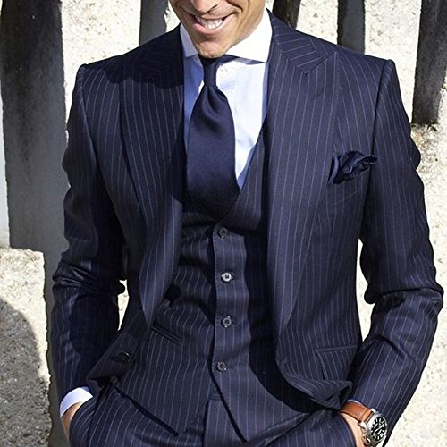 Leader of the Beauty -  Giacca da abito  - Uomo Navy blue