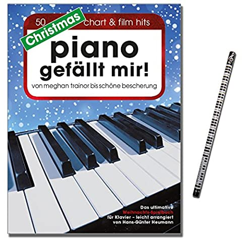 Christmas Piano gefällt mir ! Hans-Günter Heumann. Arrangiert für Klavier, Keyboard, [Musiknoten - Ausgabe 13.08.2015] mit Musik-Bleistift