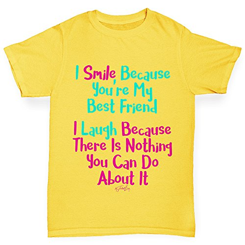 Comfortable and Soft Classic Tee with Unique Design Age 9-11 Dark Grey TWISTED ENVY Boys Personalised Dinosaur Letter G Cotton T-Shirt