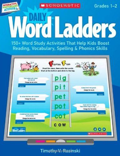 Interactive Whiteboard Activities: Daily Word Ladders (Gr. 1?de?ed??ede??d????de?ed???de??d????de?ed???de??d???: 150+ Word Study Activities That Help Kids Boost Reading, Vocabulary, Spelling & Phonics Skills by Timothy Rasinski (2012-01-01)