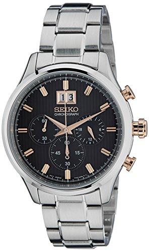 Seiko Reloj de Cuarzo Unisex SPC151P1 42.0 mm