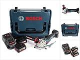 Bosch GWS 18 V 115 SC Akku Winkelschleifer in L-Boxx + GCY 30-4 Connectivity Modul + 2x GBA 18 V 6,0 Ah Akku + 1x GAL 1880 CV Ladegerät