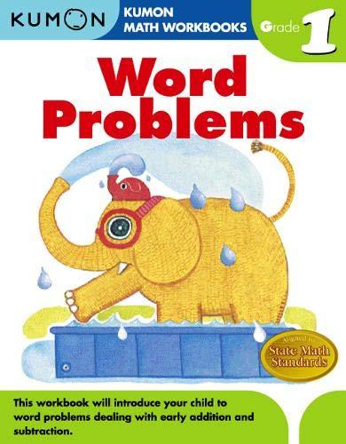 Word Problems, Grade 1 (Kumon Math Workbooks) (Grade Math Workbook 1)