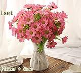Generic quality plastic vase + silk flow...