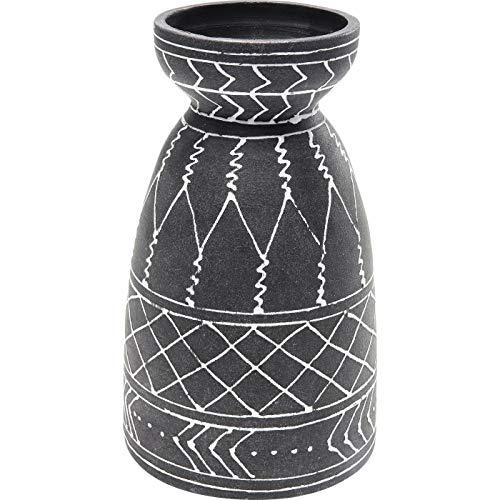 Kare Design Deko Vase Ethno Style 27cm Stein u. Keramik