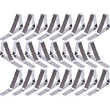 24 Pack Stainless Steel Tablecloth Clips Table Cloth Cover Clamps