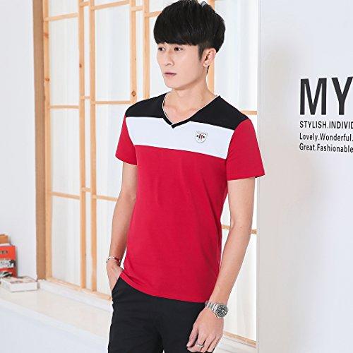 MTTROLI Herren T-Shirt 56 Rot